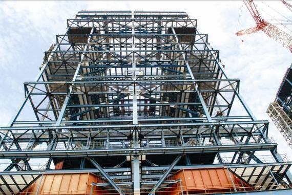 现在年生产能力达到钢结构80000吨,回转式空气预热器30台套等.图片